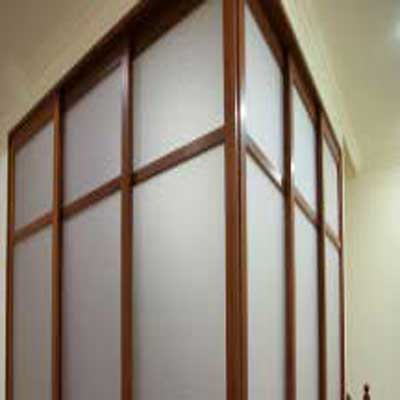 Indoor Partition 2 - Application of Tilara Embossed Sheet