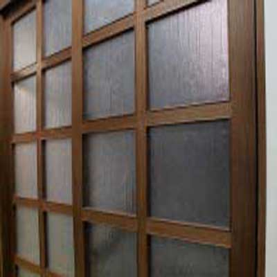 Window 3 - Application of Tilara Embossed Sheet