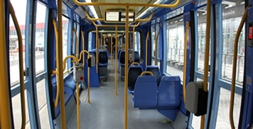 Safe and durable public transport can be developed with Polycarbonate material.