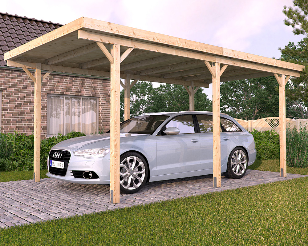 How Heavy Metal Regular Car Shed Or Shelter Or Carport Can