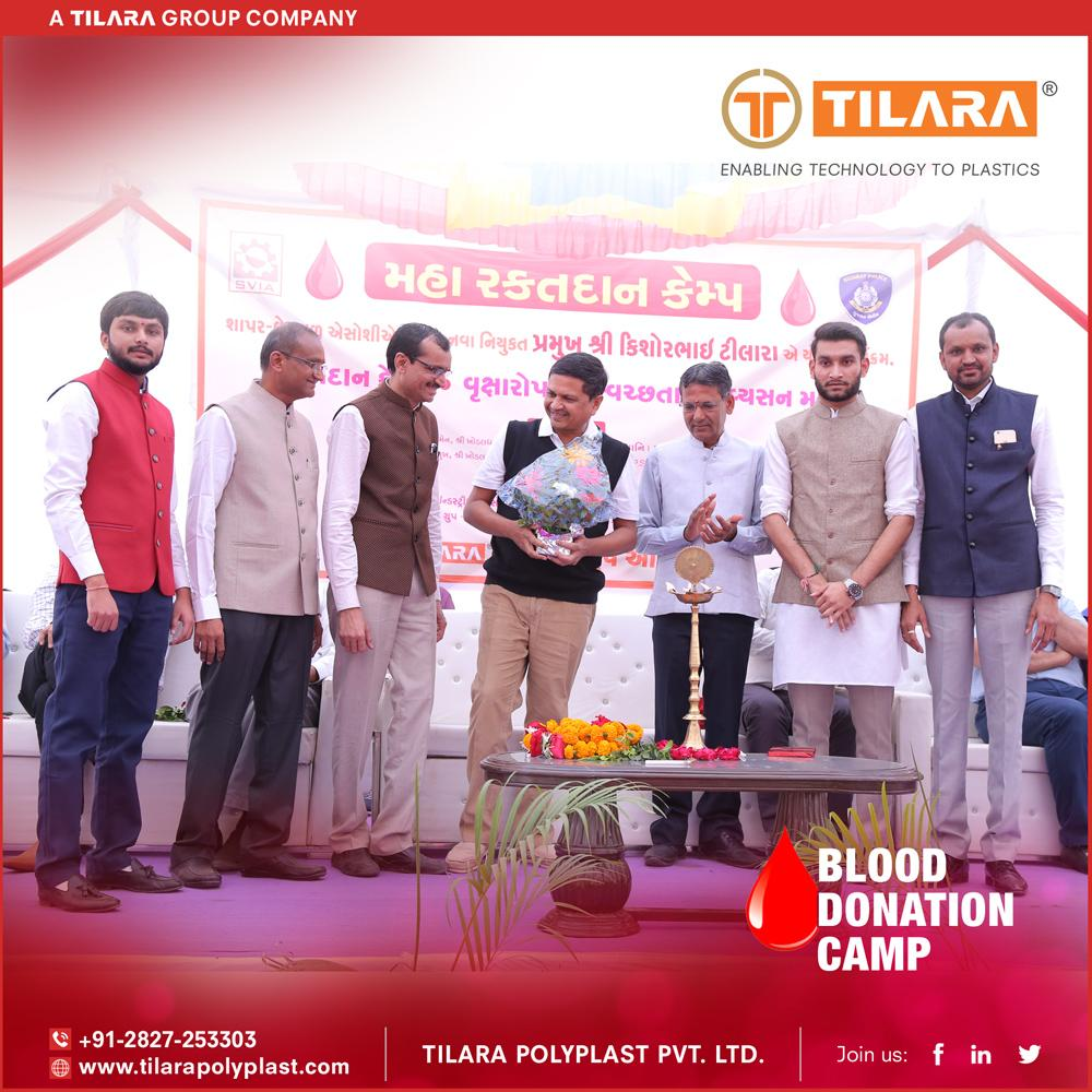 Blood Donation Camp - Tree Plantation - Say no to Tobacco - 2018
