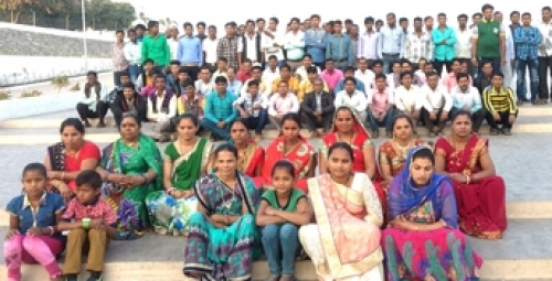 Tilara Employees on picnic at popular religious spot - Khodaldham.